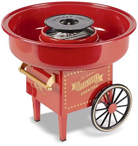 mikamax - Zuckerwattemaschine - Rot - Cotton Candy Machine –...