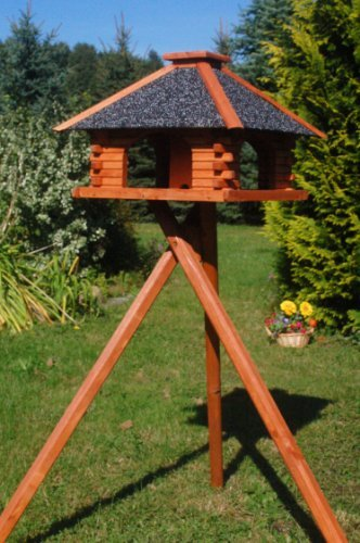 Deko-Shop-Hannusch Vogelhaus mit Ständer, Vogelhäuschen, sehr...