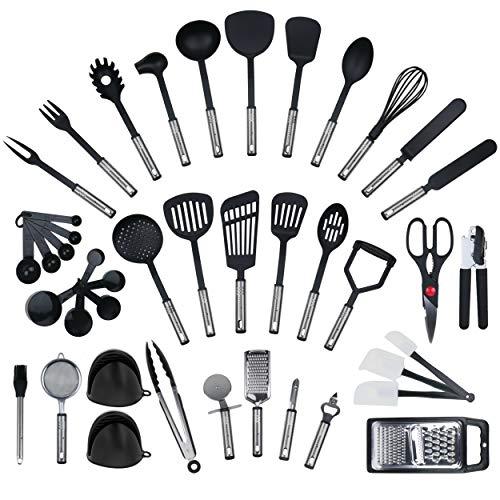 JETZT NEU - 42 teiliges-Set von KRONENKRAFT®, Küchenhelfer Set aus...