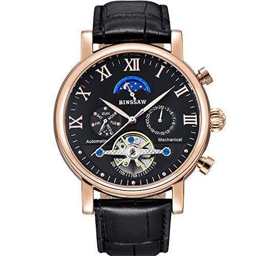 ailishabroy BINSSAW männlich Tourbillon automatische mechanische Uhr...