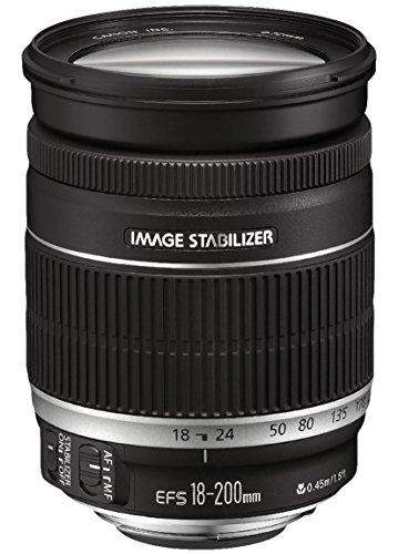 Canon Zoomobjektiv EF-S 18-200mm F3.5-5.6 IS für EOS (72mm...