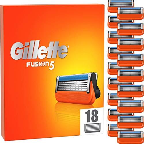 Gillette Fusion 5 Rasierklingen für Männer, 18 Stück, entwickelt...