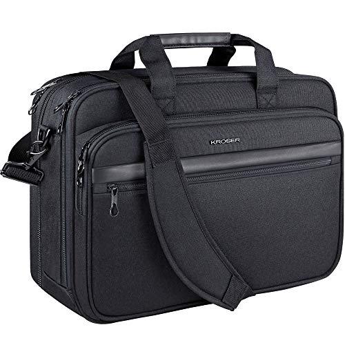 KROSER 18' Laptop Tasche Laptop Aktentasche Passt bis zu 17,3' Laptop...