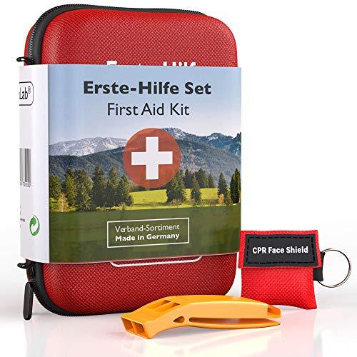 GoLab Erste Hilfe Set Outdoor - Survival Kit. Sport & Reise First Aid...