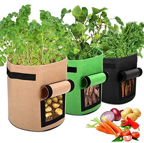 APERIL Pflanzen Tasche, Kartoffel Pflanzsack, Dauerhaft...