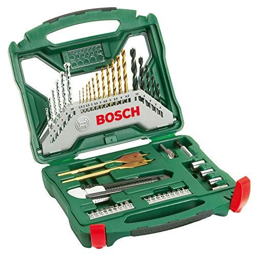 Bosch 50tlg. X-Line Titanium-Bohrer und Schrauber Set (Holz, Stein und...