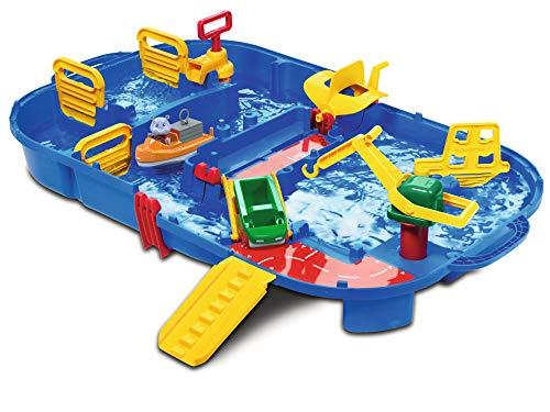 AquaPlay - LockBox - Wasserbahn als Transportkoffer mit 27 Teilen,...
