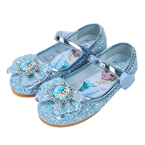 YOSICIL Mädchen Prinzessin Schuhe ELSA Kristall Schuhe Frozen...