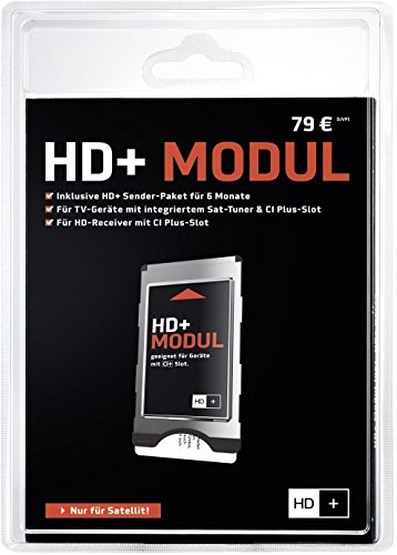 HD PLUS CI+ Modul für 6 Monate (inkl. HD+ Karte, bedingt geeignet...