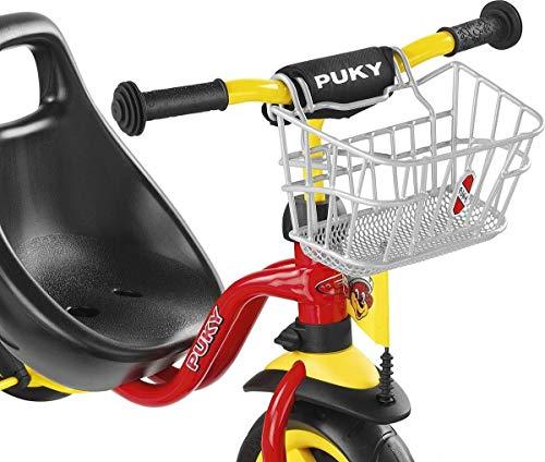 PUKY 9119 LKDR Lenkerkorb nur für PUKY Dreirad und Roller, Silber...