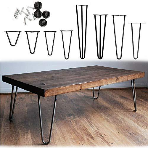 Möbelfüße, 4er Set, Hairpin Legs Austauschbare Tisch &Schrank Beine...