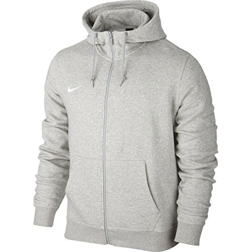 Nike Herren Sweatshirt Team Club Full Zip Kapuzenpullover, Grey...