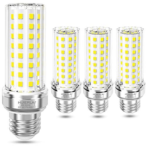 HUIERLAI 20W LED Lampe E27, 6000K Kaltweiß, 2100 Lumen E27 LED...