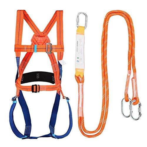 Absturzsicherung, Fallschutz-Set, Auffanggurt mit Bandfalldämpfer...