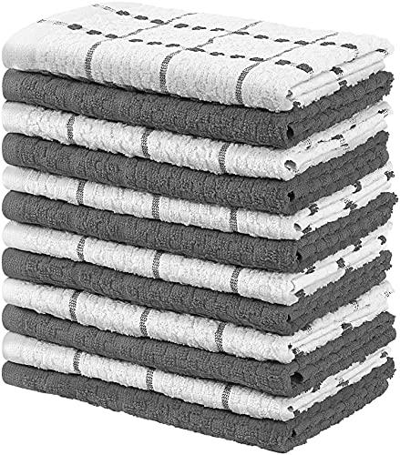 Utopia Towels - 12er Pack Geschirrtücher Küchentücher, 38 x 64 cm...