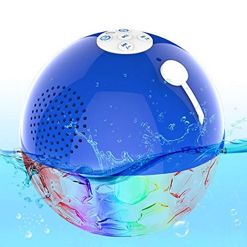 Schwimmend Bluetooth Lautsprecher, IPX7 wasserdichte Poollautsprecher...