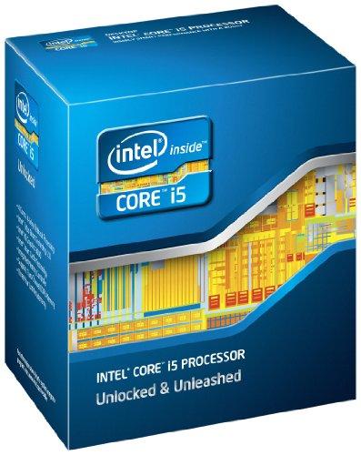 Intel Quad Core Box Prozessor (Intel Core i5-2500K, 3,3GHz, 6MB Cache,...
