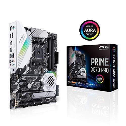 ASUS Prime X570-PRO Mainboard Sockel AM4 (Ryzen 3000 kompatibel, ATX-,...