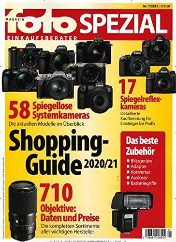 Fotomagazin Spezial 1/2021 'Shopping Guide'