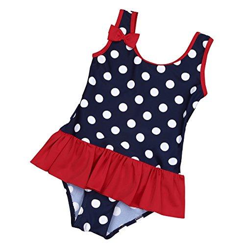iEFiEL Baby - Mädchen Badeanzug Einteiler Bikini UV-Schutz Bademoden...
