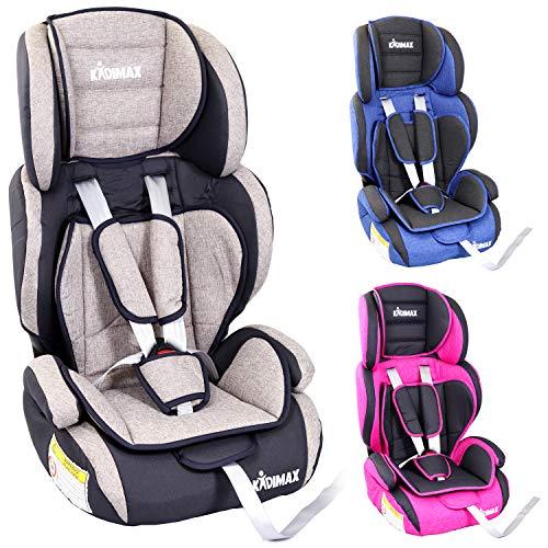 KIDIMAX® Autokindersitz Kindersitz Kinderautositz, Sitzschale,...