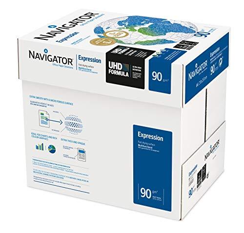 2500 Blatt Navigator Expression Inkjet / Kopierpapier 90g/m² A4...