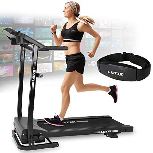 Letix Sports Motorisiertes Laufband mit APP Steuerung (Tablet,...