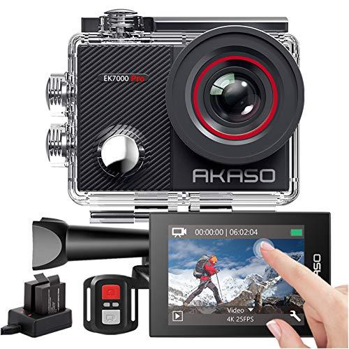 AKASO Sports Kamera/Action Cam 4K WiFi Helmkamera/Unterwasserkamera...