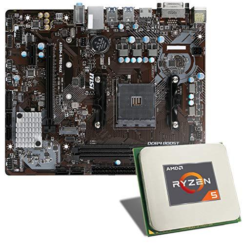 AMD Ryzen 5 3350G / MSI A320M-A PRO MAX Mainboard Bundle   CSL PC...