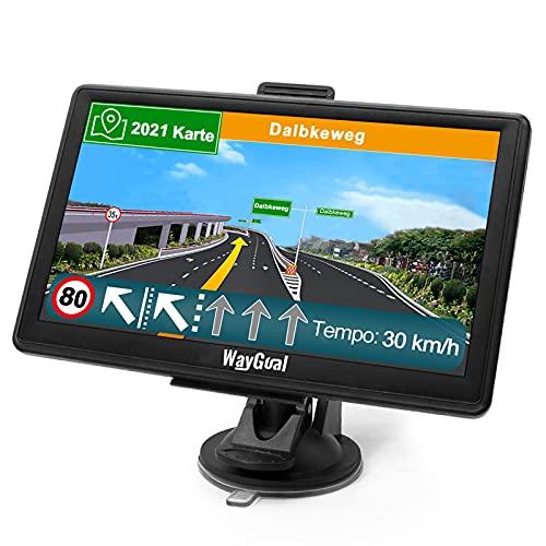 GPS Navigationsgerät für Auto LKW - WayGoal Navigation 7 Zoll Navi...