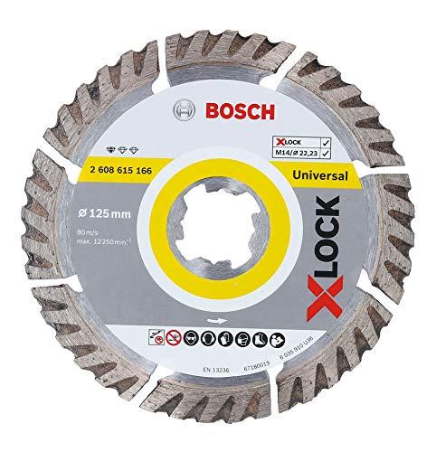 Bosch Professional Diamanttrennscheibe Standard (Universal, X-LOCK,...