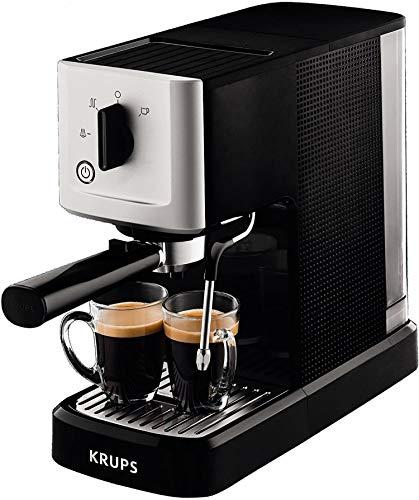 Krups Calvi Steam & Pump Espressomaschine XP3440   Edelstahl   1 L...