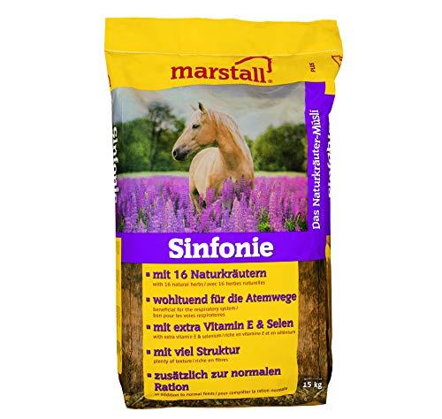 marstall Premium-Pferdefutter Sinfonie, 1er Pack (1 x 15 kilograms)