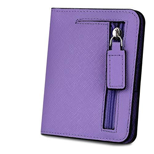 Geldbörse Damen YALUXE RFID Blockieren Dünne Brieftasche Damen Mini...