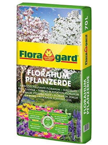 Floragard Florahum Pflanzerde 70 L • Universalerde • für...