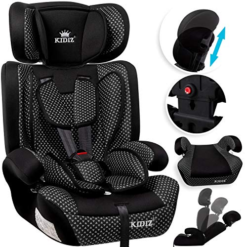 KIDIZ® Autokindersitz Kindersitz Kinderautositz | Autositz Sitzschale...