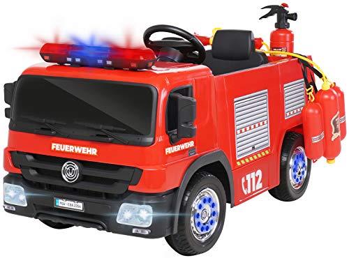 Actionbikes Motors Kinder Elektroauto Polizei / Feuerwehr SX1818 - 2 x...