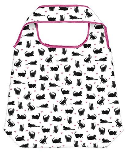 moses. Shopper Katze | Faltbare Einkaufstasche | umweltfreundlich,...