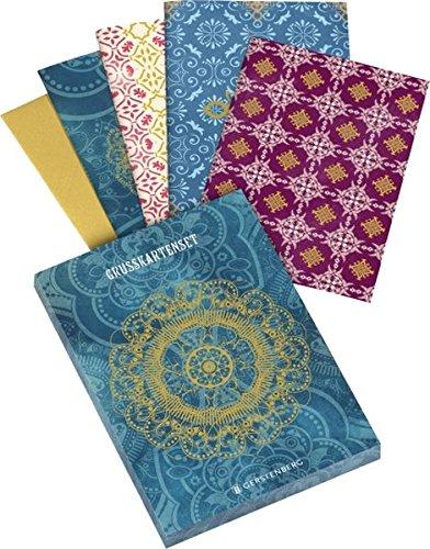 Der Zauber Indiens - Grußkarten-Set: 8 Klappkarten mit Kuvert, 4...