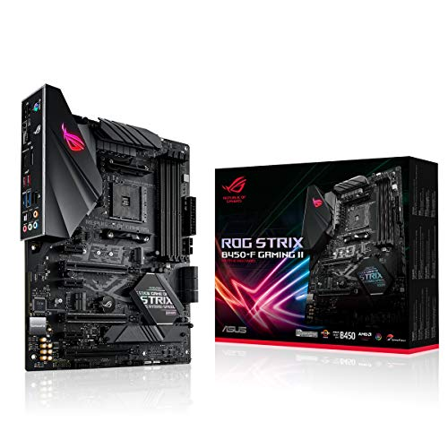 Asus ROG Strix B450-F Gaming II Mainboard Sockel AM4 (ATX, AMD Ryzen,...