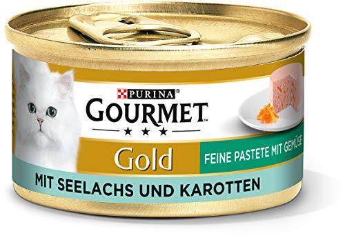 PURINA GOURMET Gold Feine Pastete mit Gemüse Katzenfutter nass, mit...