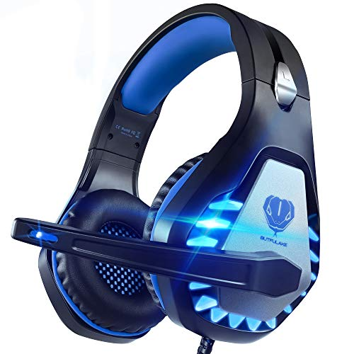 Pacrate Gaming Headset für PC, PS4, PS5, Xbox One, Xbox Series X,...