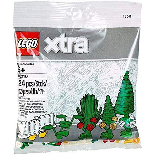 LEGO Pflanzen, Bäume, Sträucher, Blumen, Zäune, Frosch Gelb - Xtra...