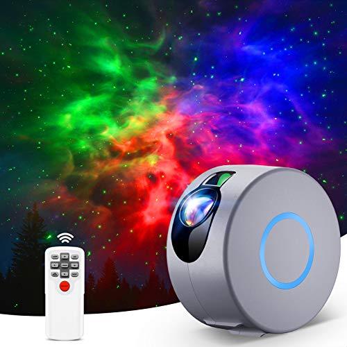 Sternenhimmel Projektor, LED Galaxy Projector Light mit Fernbedienung,...
