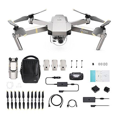 DJI Mavic Pro Platinum Fly More Combo - Drohne mit 4K Full-HD...