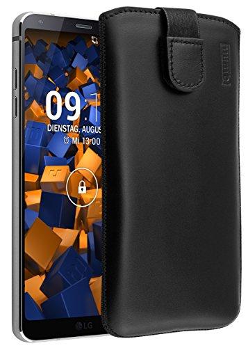 mumbi Echt Ledertasche kompatibel mit LG G6 Hülle Leder Tasche Case...