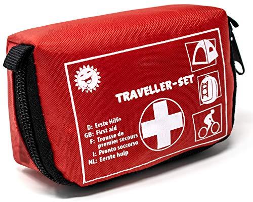 Selldorado® 32-teiliges Erste-Hilfe-Set Traveller - Notfallkoffer...