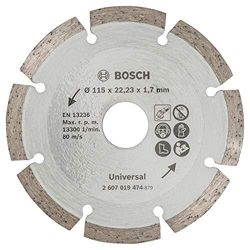 Bosch Diamanttrennscheibe für Baumaterial, 115 mm, 2607019474
