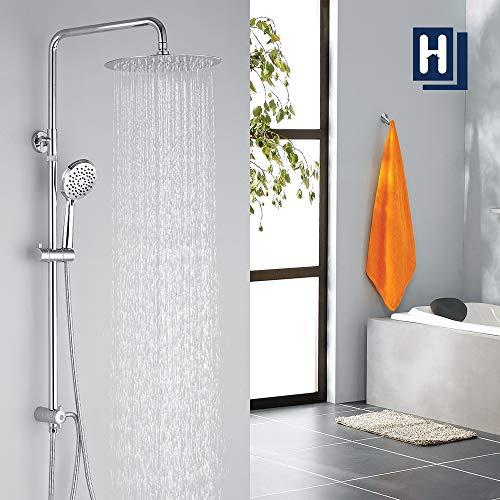 Homelody Duschsystem ohne armatur Duschset Regenduscheset inkl....
