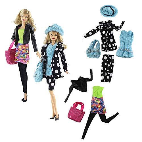 WENTS Bauernhof Sets 2er Pack Fashions Puppenkleidung Kleidung...
